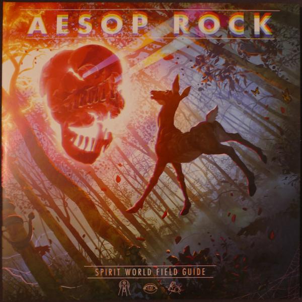 Aesop Rock - Spirit World Field Guide (Ltd. Clear Vinyl 2LP) (Back)