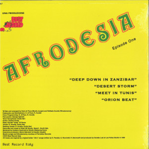 Afrodesia - Afrodesia (Back)