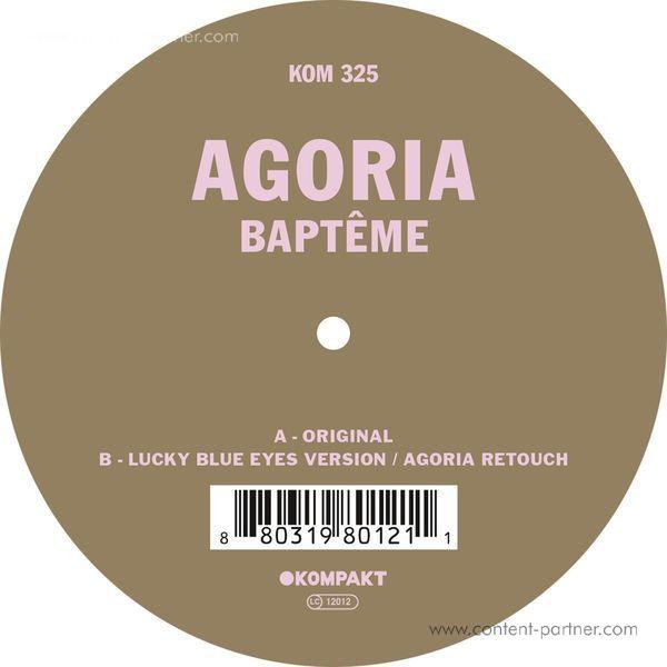 Agoria - Bapteme (Back)