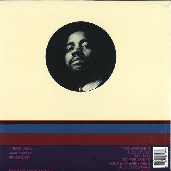 Ahmad Jamal Trio - The Awakening (180g Reissue) (Back)