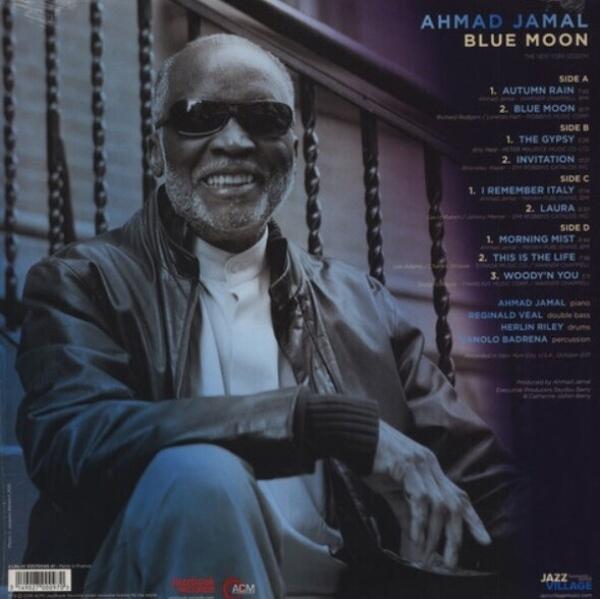 Ahmad Jamal - Blue Moon (2LP) (Back)