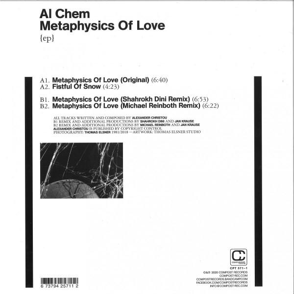 Al Chem - Metaphysics Of Love (Shahrokh Dini & M.Reinboth) (Back)