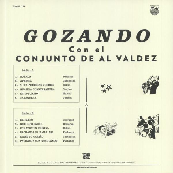Al Valdez y Su Conjunto - Gozando (LP Reissue) (Back)