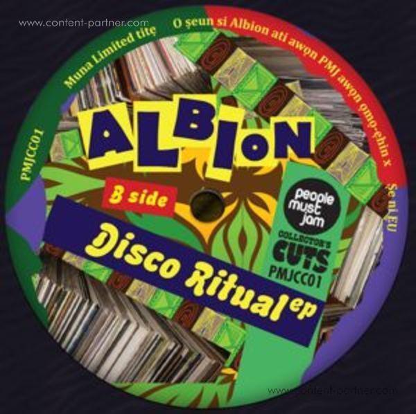 Albion - Disco Ritual EP (Back)