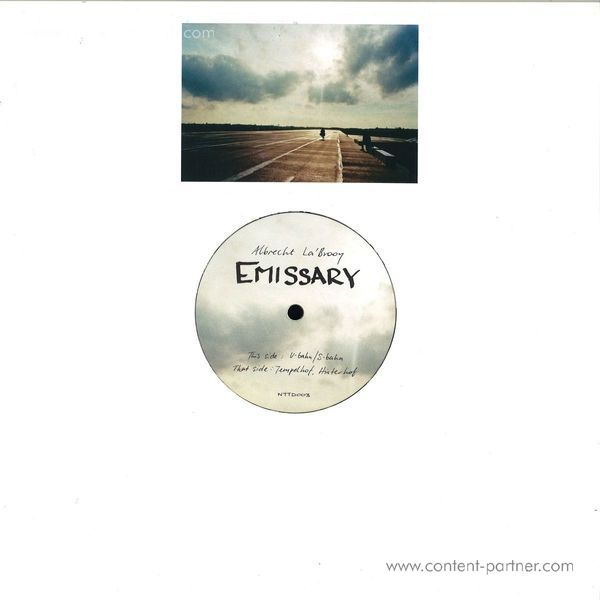 Albrecht La'brooy - Emissary Ep (Back)