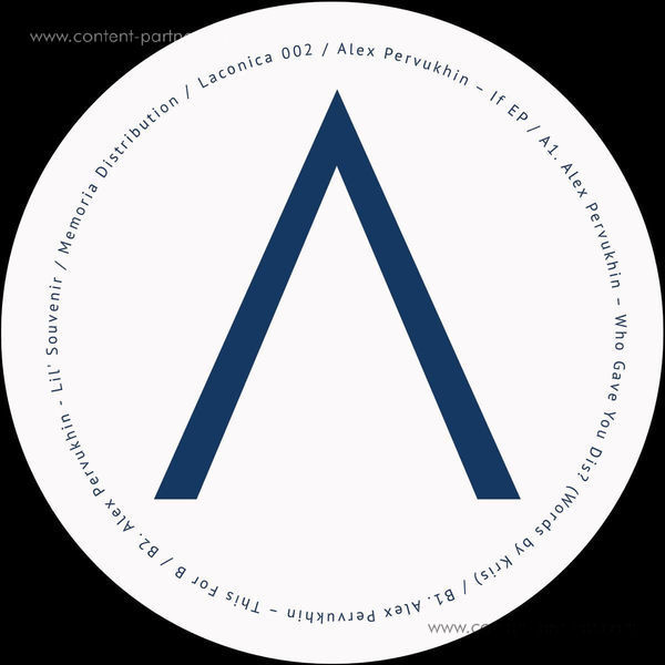 Alex Pervukhin - If EP (Back)