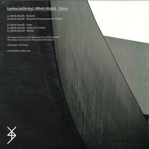 Alfredo Mazzilli - Nibiru W/ Iori Rmx (Back)