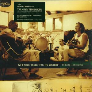 Ali Farka Touré with Ry Cooder - Talking Timbuktu (180g 2LP + MP3)