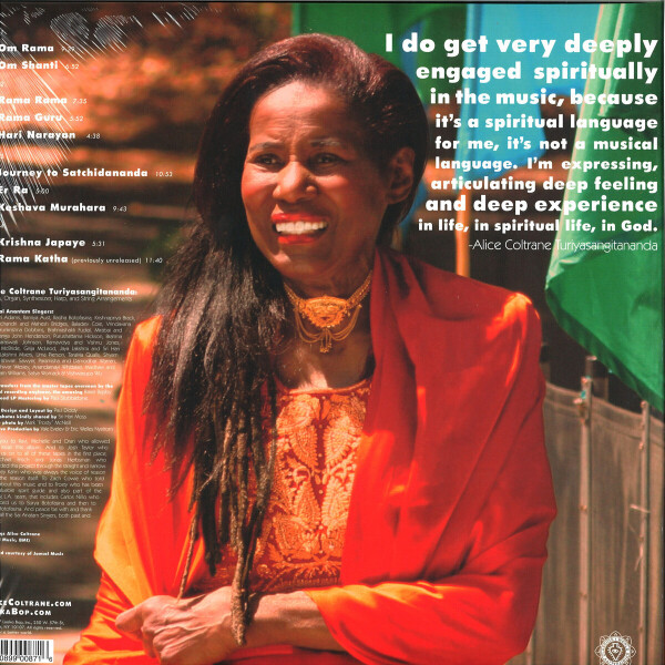 Alice Coltrane - The Ecstatic Music Of Alice Coltrane Turiyasangita (Back)