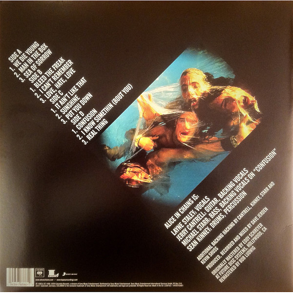 Alice In Chains - Facelift (Reissue 2LP) (Back)