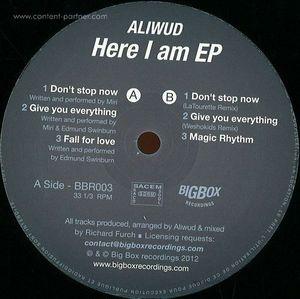Aliwud - Here I Am EP