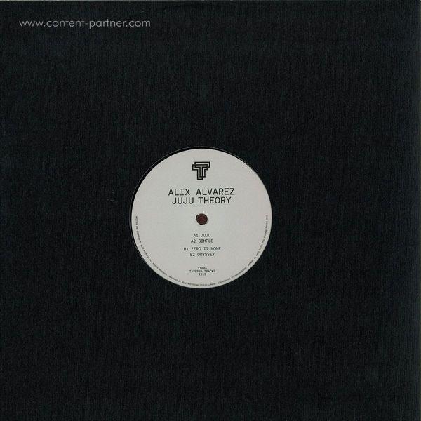 Alix Alvarez - Juju Theory (Vinyl Only) (Back)