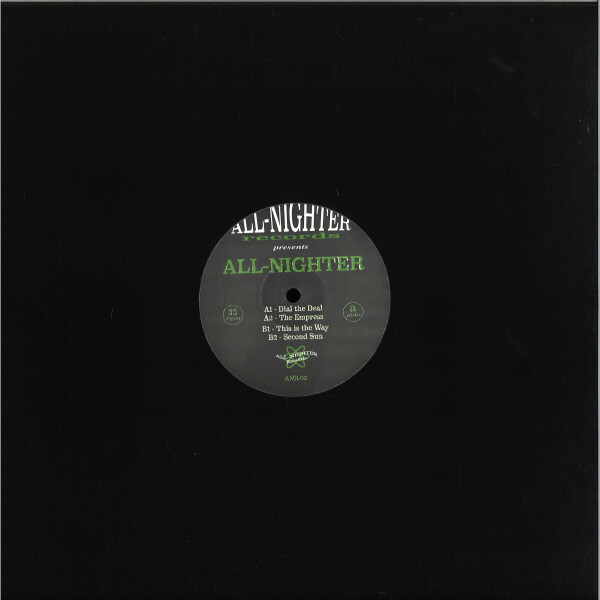 All-Nighter - This is the Way Ep (Back)