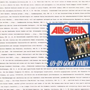 Allotria Jazz Band - Good Times,69-89