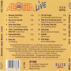 Allotria Jazz Band - Live (Back)