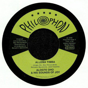 Alogte Oho & His Sounds of Joy - Allema Timba (Back)