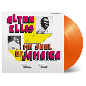 Alton Ellis - Mr. Soul Of Jamaica (Ltd. Orange Vinyl LP)