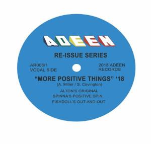Alton Miller - More Positive Things (Spinna, Fishdolls, DJ Spinna