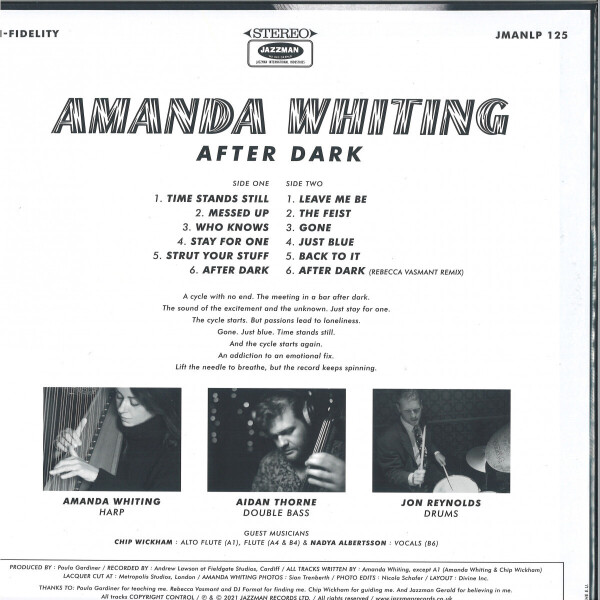 Amanda Whiting - After Dark (LP) (Back)