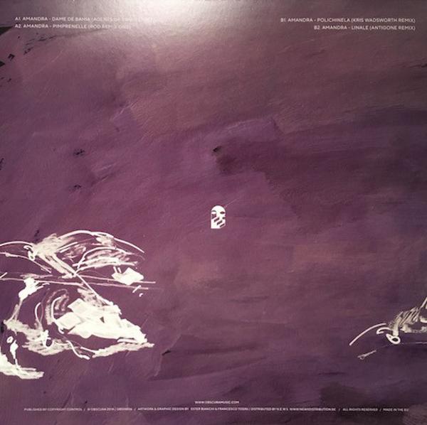 Amandra - Dame De Bahia Remixes (Back)