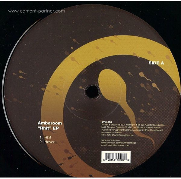 Amberoom - Rhit Ep (Back)