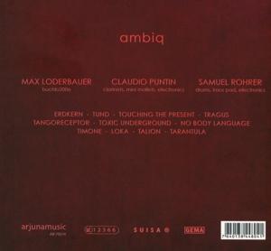 Ambiq-Loderbauer/Puntin/Rohrer - Ambiq (Back)