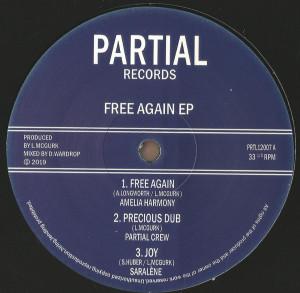 Amelia Harmony, Jah Marnyah, Saralène - Free Again EP