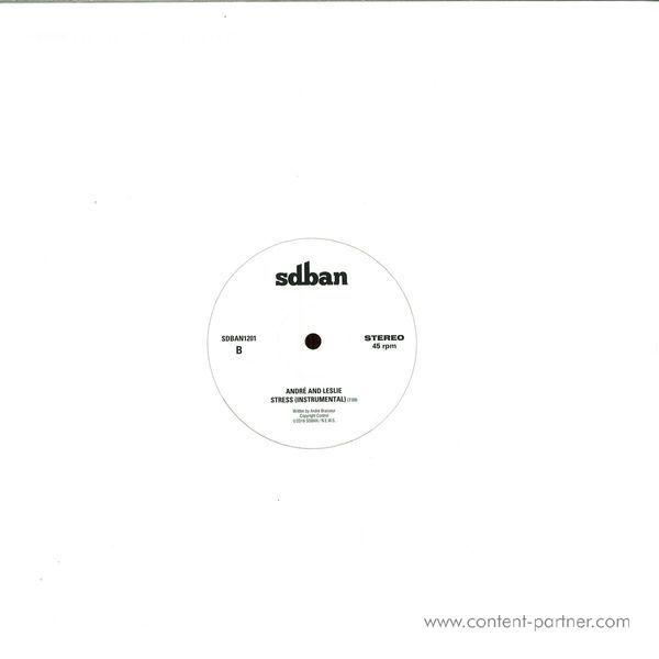 Andre Brasseur - Cordilleras / Stress (Back)