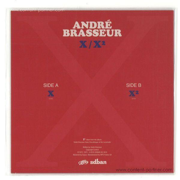 Andre Brasseur - X / X2 (Back)