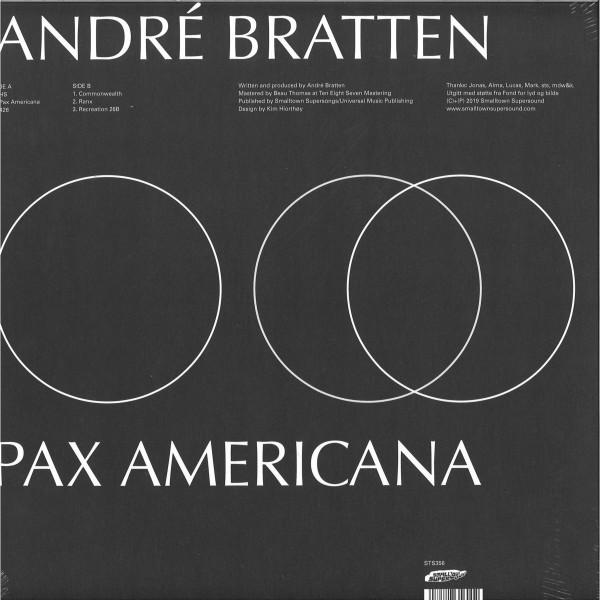 Andre Bratten - Pax Americana (LP) (Back)