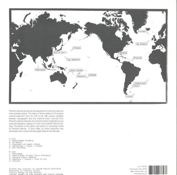 Andrew Pekler - SOUNDS FROM PHANTOM ISLANDS (Repress) (Back)