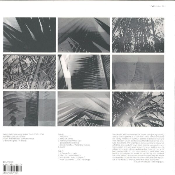 Andrew Pekler - TRISTES TROPIQUES (Back)