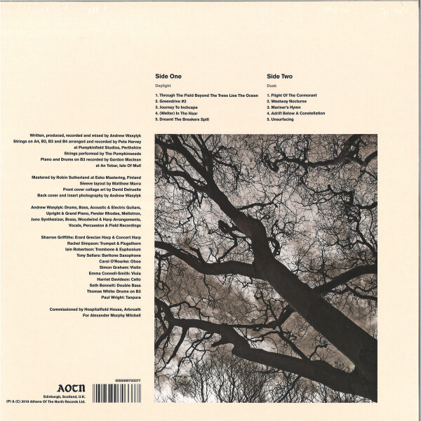 Andrew Wasylyk - The Paralian (Back)