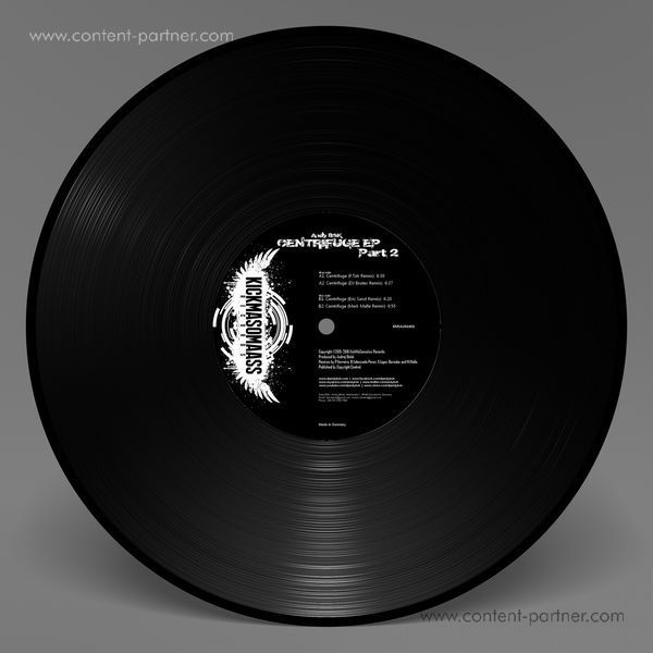 Andy BSK - Centrifuge EP Part 2 (Remixes) (Back)