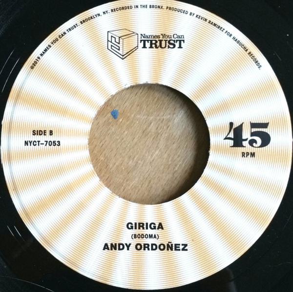 Andy Ordoñez - Evolución de la Musica Garifuna (Back)