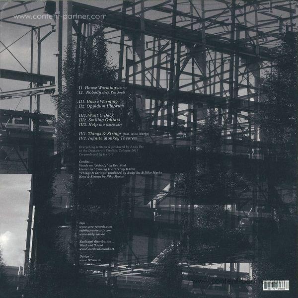 Andy Vaz - House Warming LP (2LP Gatefold) (Back)