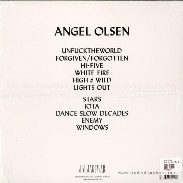 Angel Olsen - Burn Your Fire For No Witness (LP) (Back)