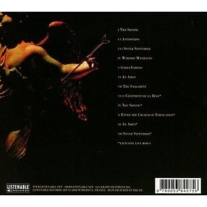 Anorexia Nervosa - Redemption Process (Re-Release) (Back)