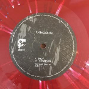Antagonist - Shui / Escapism [ltd. splatter vinyl] (Back)