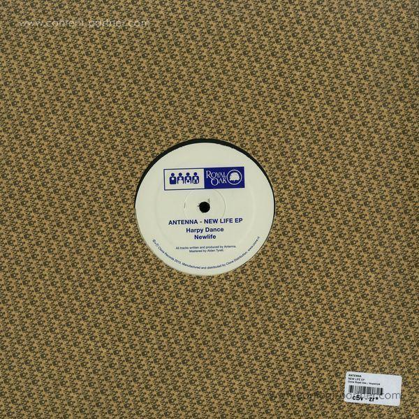 Antenna - Newlife EP (Back)