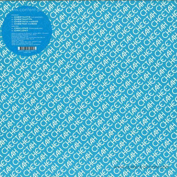 Aphex Twin - Cheetah EP (12''+MP3) (Back)