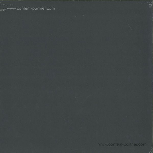 Aphex Twin - Computer Controlled Acou. Instr. Pt2 EP (Back)