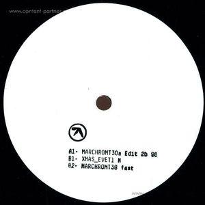 Aphex Twin - MARCHCHROMT30a Edit 2b 96 EP (12''/White