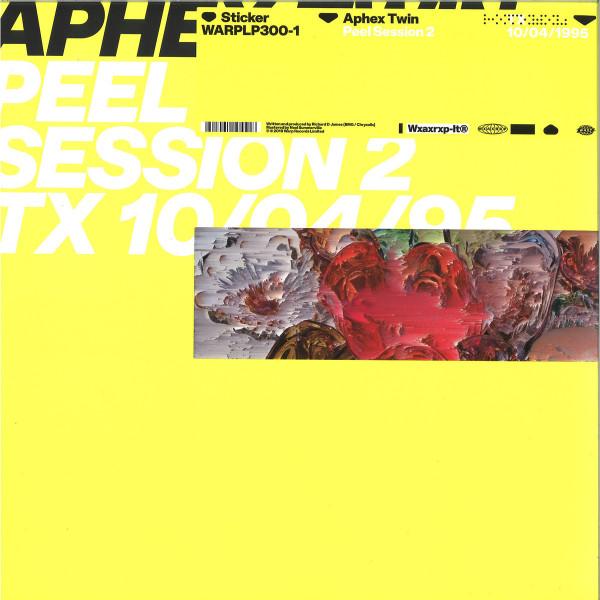 Aphex Twin - Peel Session 2 (12''+MP3)