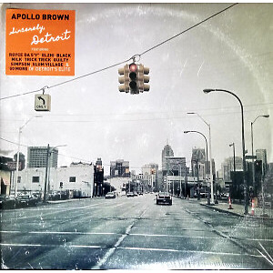 Apollo Brown - Sincerly, Detroit (Ltd. Ultra Clear 2LP Repress)