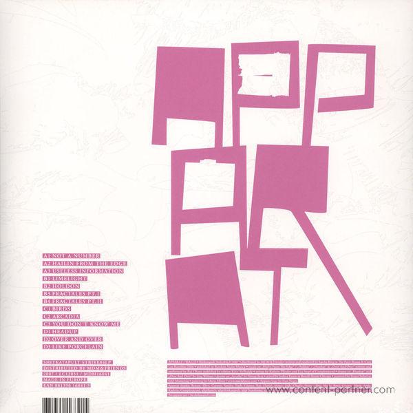 Apparat - Walls (2LP) (Back)