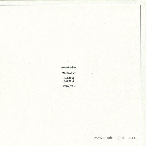 Aquarian Foundation - Mind Miniatures LP (Back)