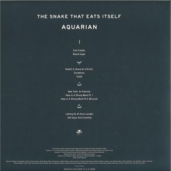 Aquarian - The Snake That Eats Itself (Back)