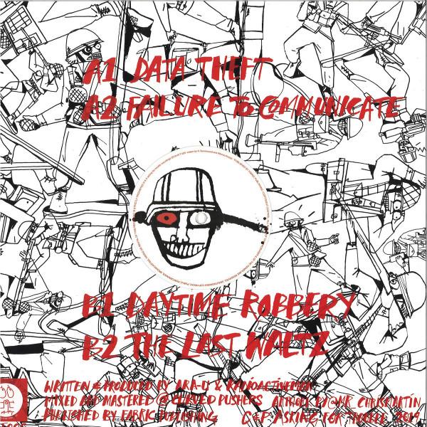 Ara-U / Radioactive Man - Plastic Attack (Back)