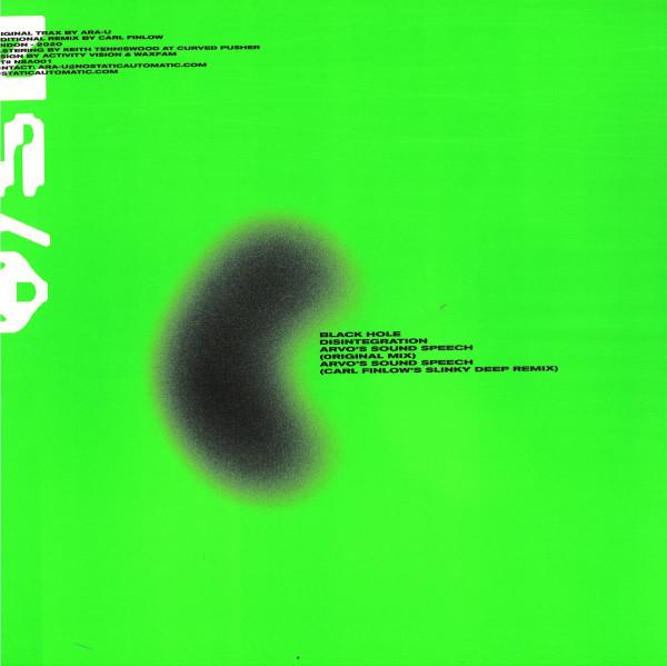Ara-u - Black Hole EP (Back)